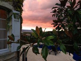 Coucher de soleil Hotel Edward1er