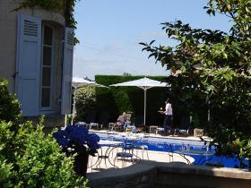 Hotel Edward 1er autour la piscine