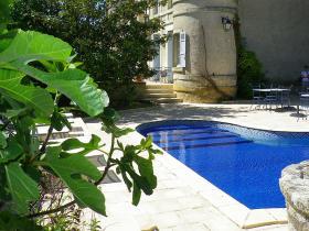 La piscine Hotel Edward 1er