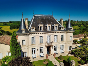 drone (2) - Hotel Edward 1er - Monpazier - Dordogne -France copy